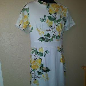 Home Sewn Pattern Cut Dress
